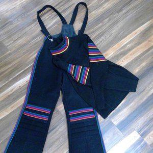 Black Ski pants and sweater